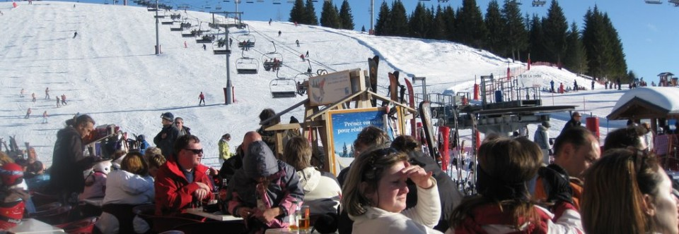 Family friendly pistes